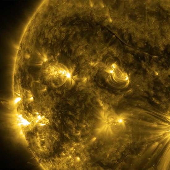 NASA Footage of the Sun