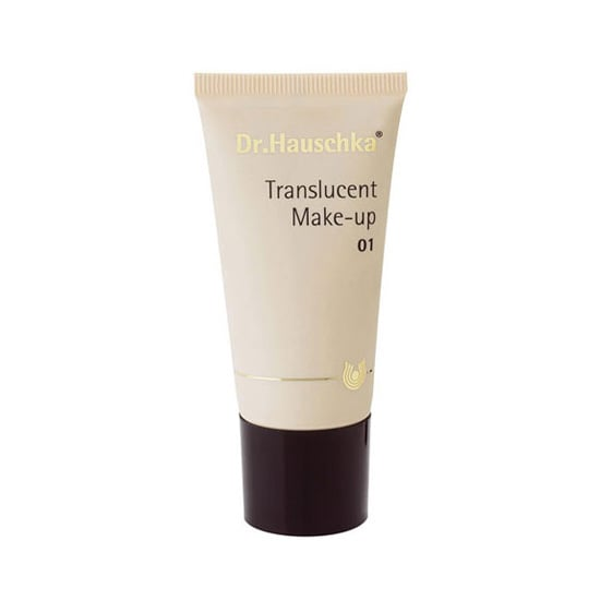 Dr. Hauschka Translucent Makeup ($37) is a lightweight foundation meant to cover up skin imperfections without irritating sensitive skin.