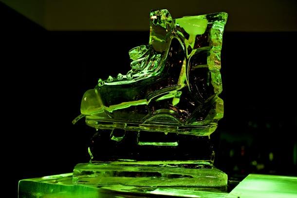 Hockey Skate Ice Luge