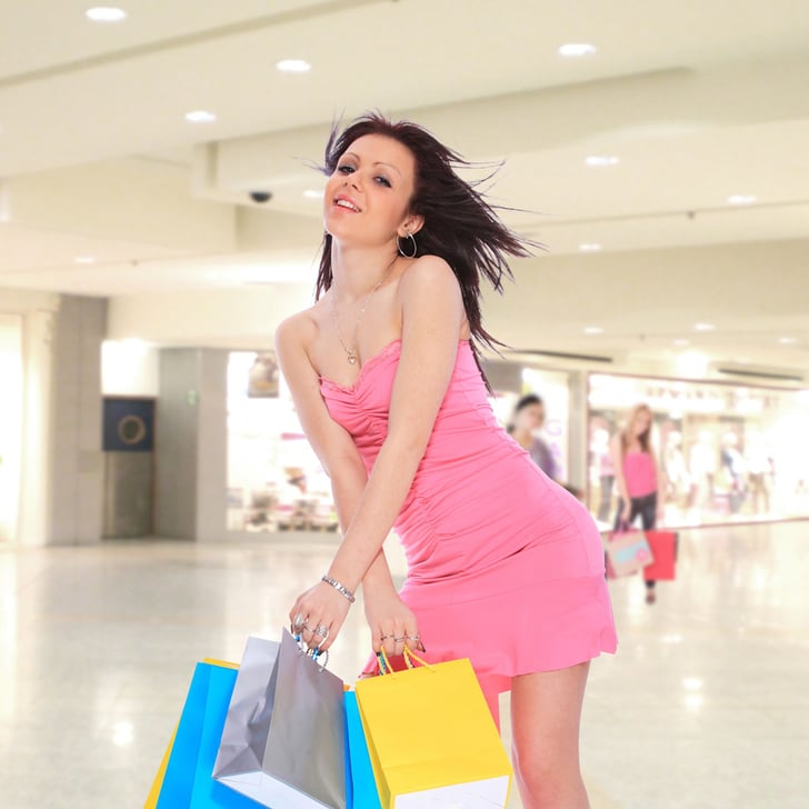 Weird Pictures of Women Shopping