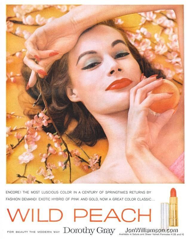 She's a peach.