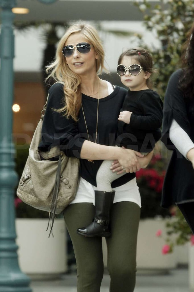 Sarah Michelle Gellar and Charlotte Prinze shopped together.
