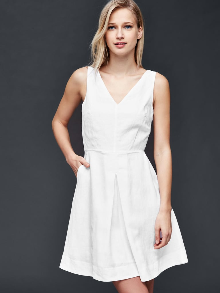 Gap Linen Fit and Flare Dress ($70)