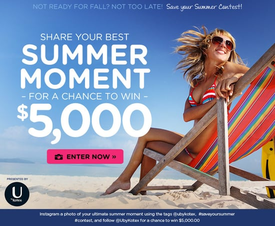 Save Your Summer Instagram Contest: You Could Win $5,000!