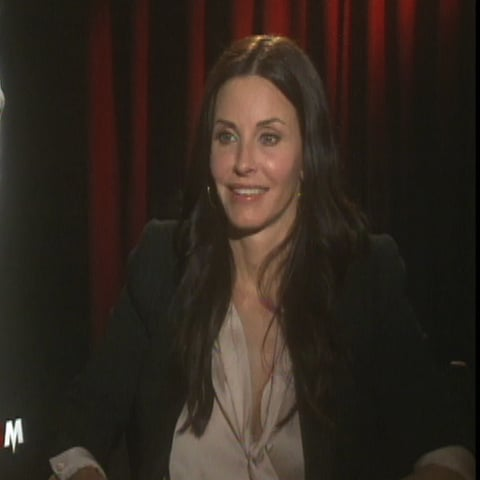 Courteney Cox Video Interview on Scream 4 and David Arquette