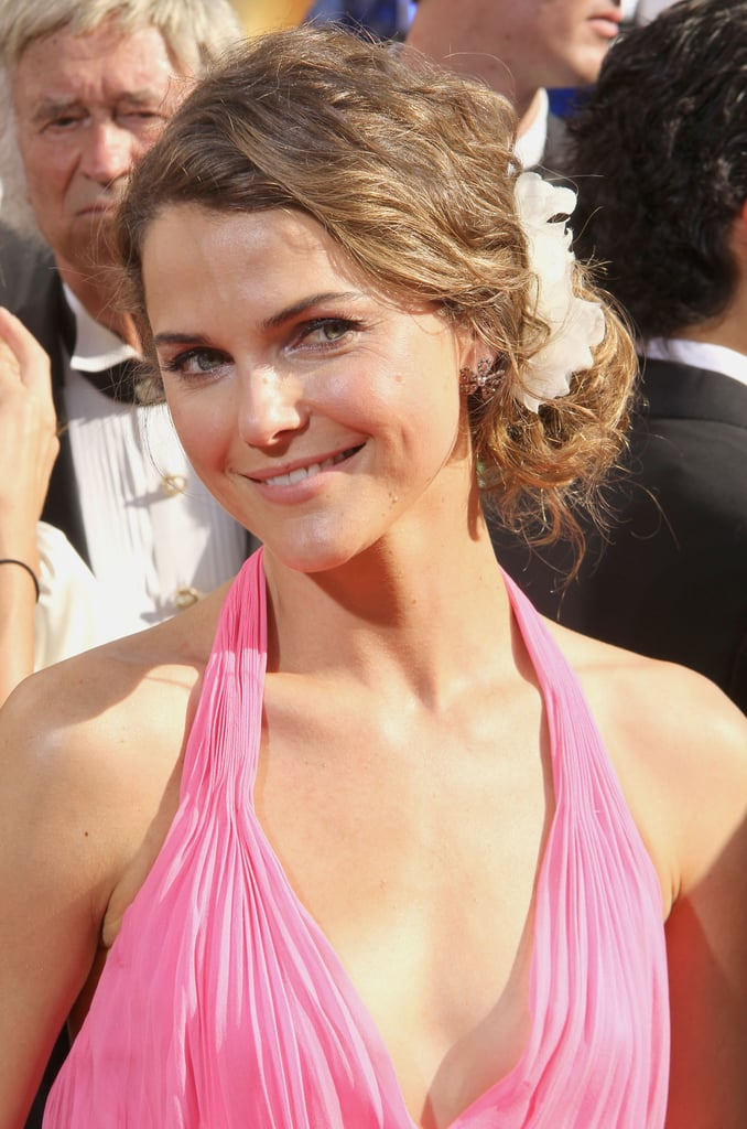 Keri Russell, Amy Poehler and Will Arnett at the Emmys