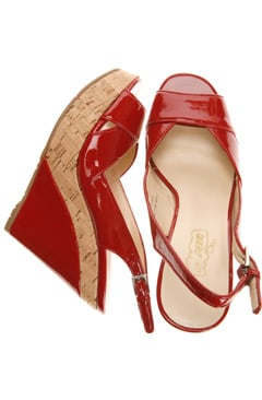 Oh Deer! Patent Slingback Wedge: Love It or Hate It?