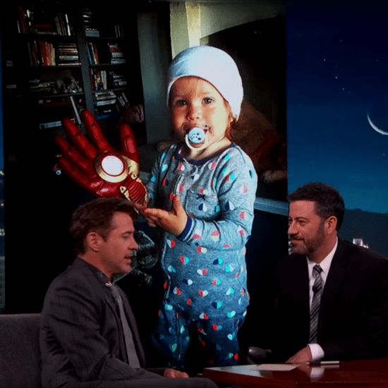 Robert Downey Jr. on Jimmy Kimmel Live April 2016
