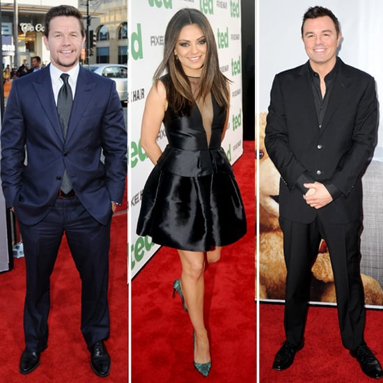 Mark, Mila, and Seth Team Up For Their Ted Premiere