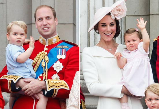 Prince George and Princess Charlotte Balcony Photos