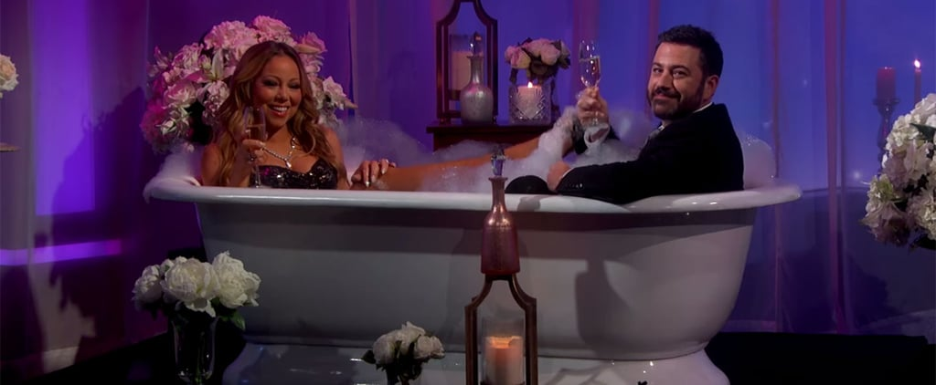 Mariah Carey Takes a Bath With Jimmy Kimmel Because She's Just That Fabulous