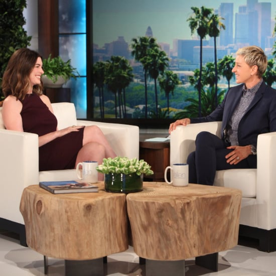 Anne Hathaway on Ellen May 2016