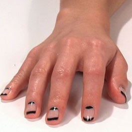 How to Create a Half-Moon Manicure