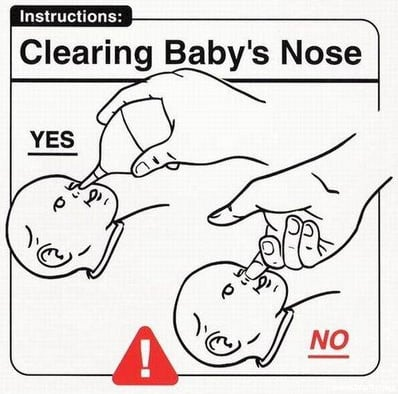 Clearing Baby's Nose