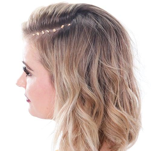 Gold-Leaf Hair Tutorial