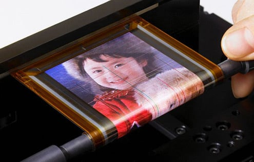 Sony Introduces Thin, Rollable OLED Screen