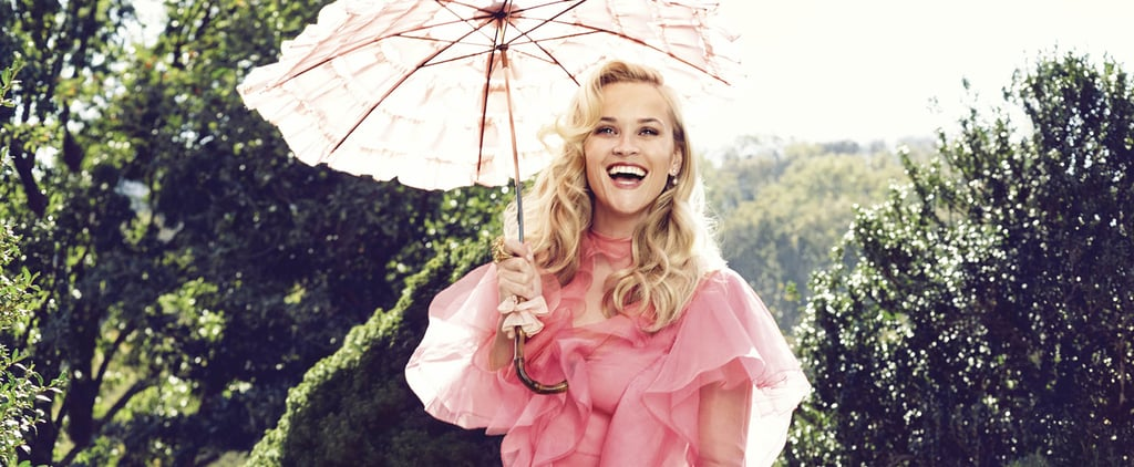 Reese Witherspoon Pulls the Ultimate Fashion Designer Move For Her Harper's Bazaar Cover