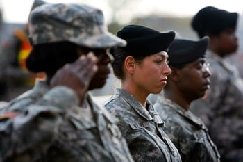 Pregnant Soldiers Face Court Martial