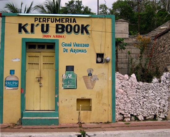Ki'u Book Perfume Shop in Valladolid, Mexico