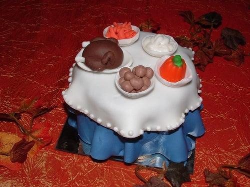 Cupcake of the Week: Turkey Dinner