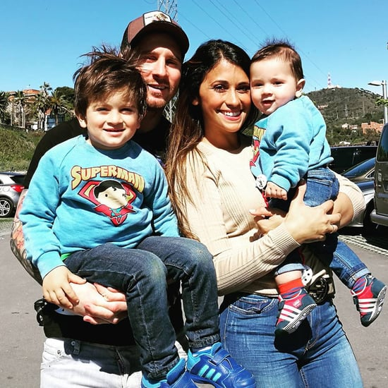 Lionel Messi's Youngest Son Walking Instagram Video