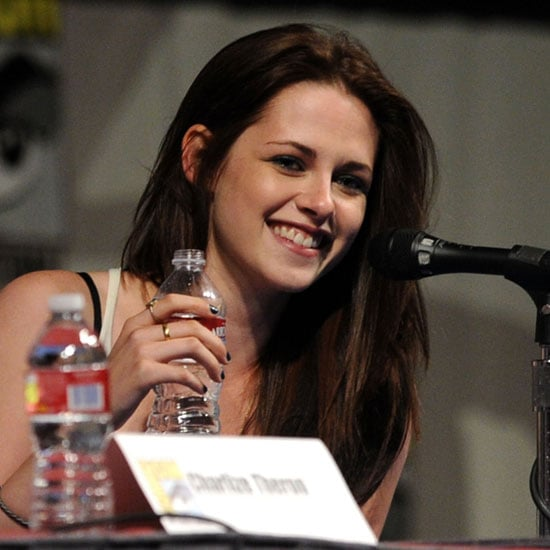 Kristen Stewart and Chris Hemsworth at Snow White and the Huntsman Comic-Con Panel Pictures