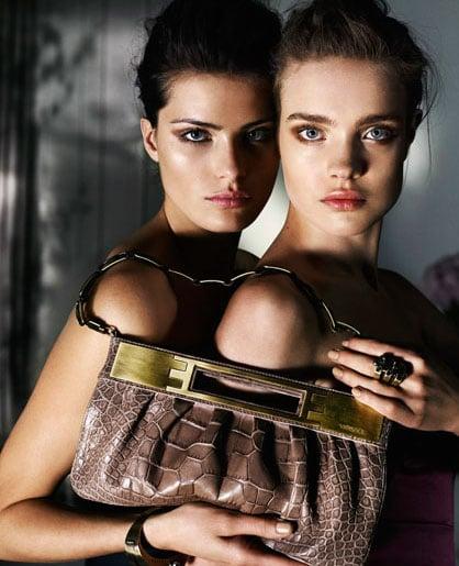 Natalia Vodianova, Isabeli Fontana Tango for Versace