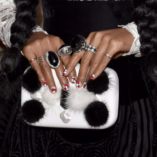 Celebrity Manicures From Award Show Red Carpets 2016