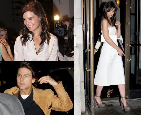 Pictures of Katie Holmes and Tom Cruise in New York During Fashion Week 2010