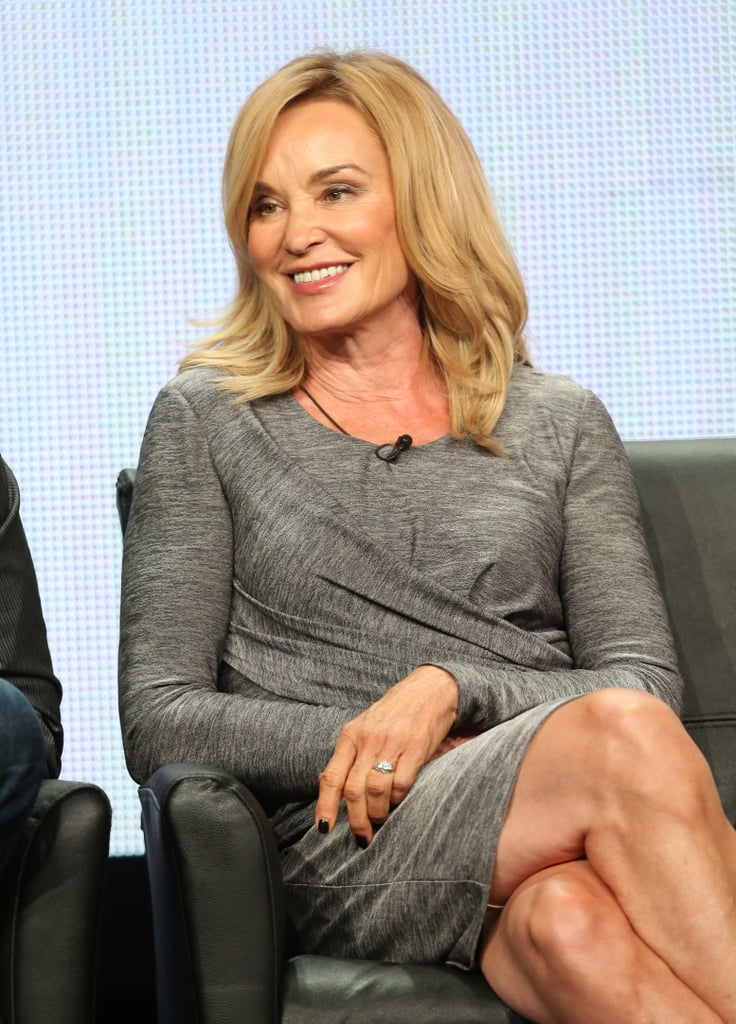 Jessica Lange took the stage to spill secrets about American Horror Story: Coven.