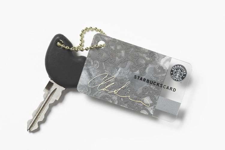 Christian Siriano-Designed Mini Starbucks Card