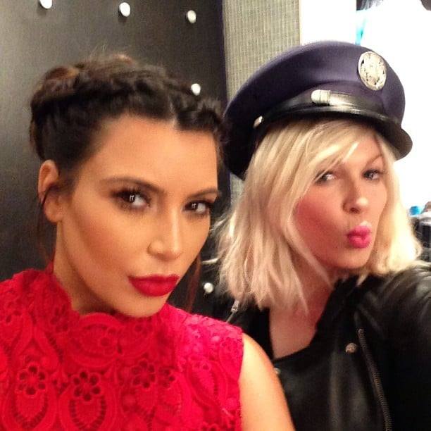 Kim Kardashian went on a Vegas road trip with a friend. Source: Instagram user kimkardashian