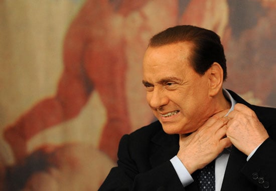 Italy's Silvio Berlusconi to Be Treated For Scandal-Related Stress