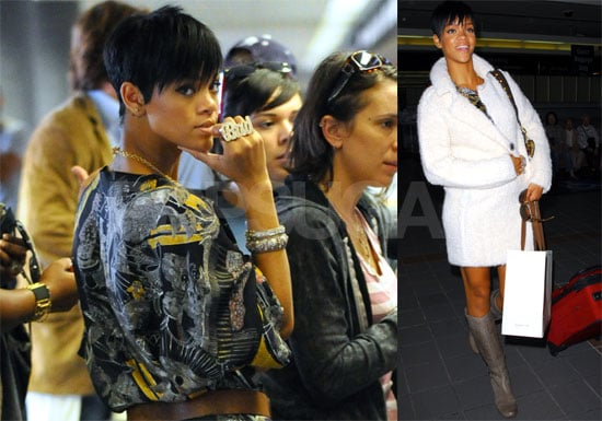 Photos of Rihanna at LAX Airport