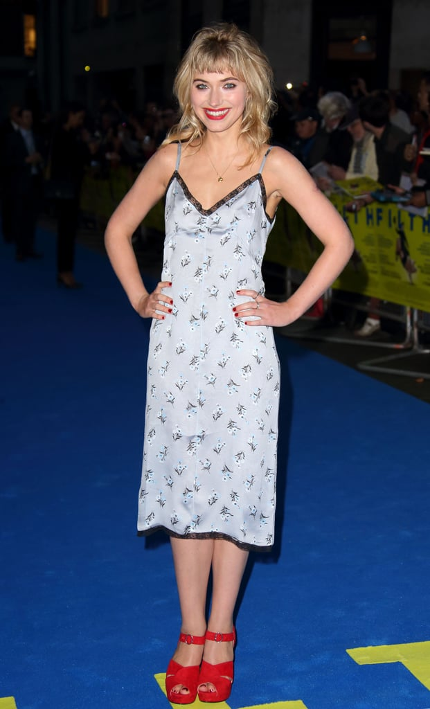 Imogen slipped into a silk Prada dress for the London premiere of Filth, a look she says is one of her favourites.