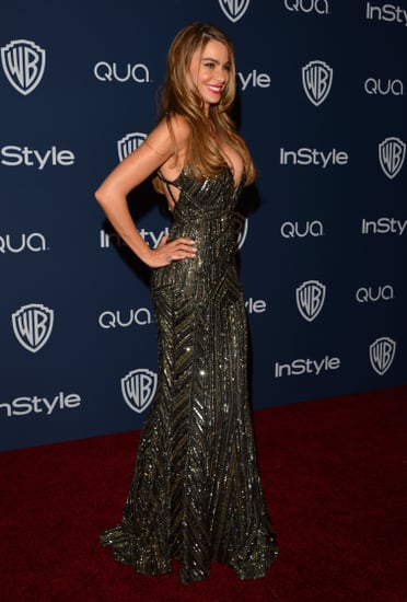 Sofia-Vergara-changed-sexy-sparkly-number-afterparty