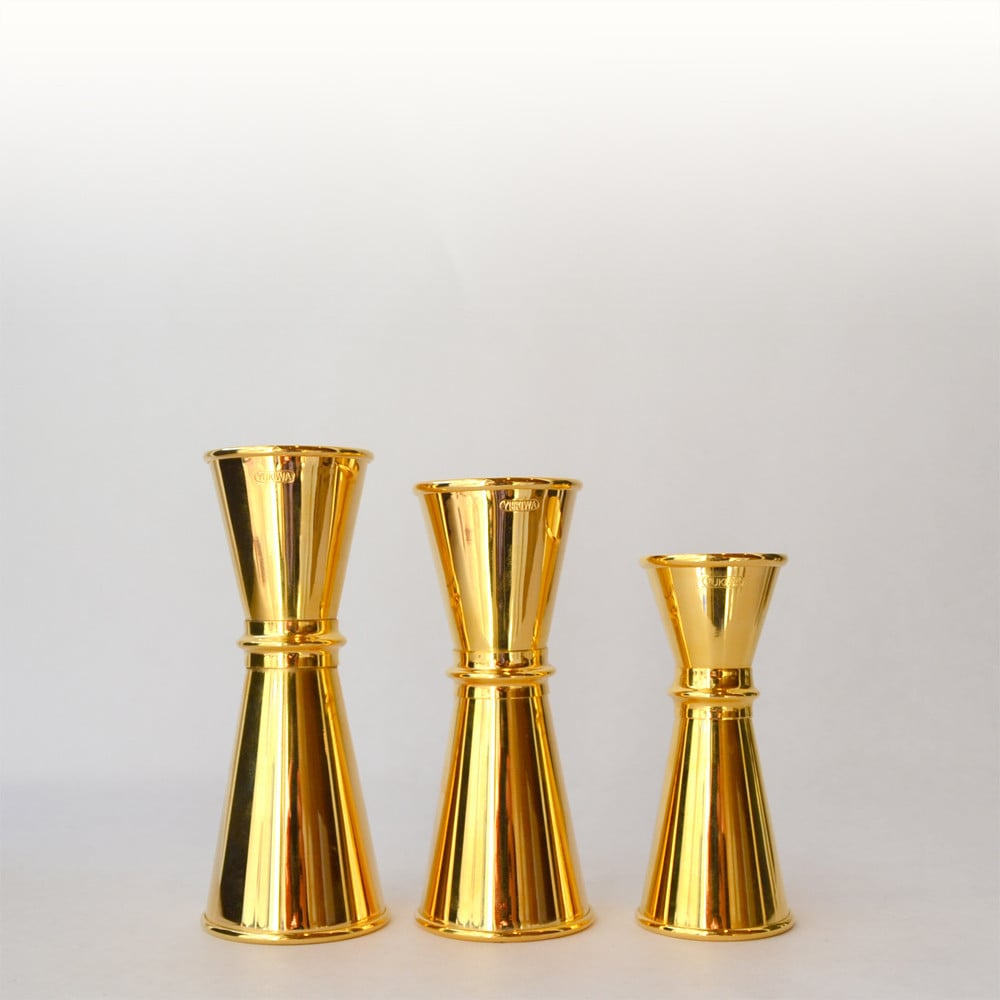 Gold-Plated Jigger
