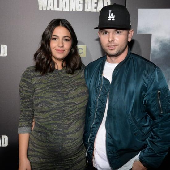 Walking Dead Alanna Masterson Gives Birth