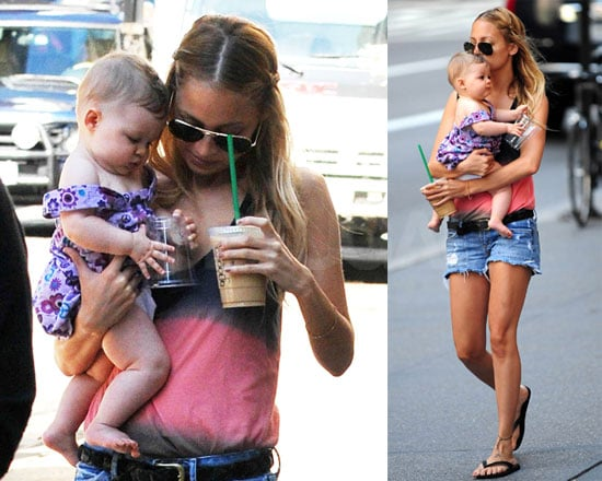 Photos of Nicole Richie With Celebrity Baby Harlow Madden in NYC