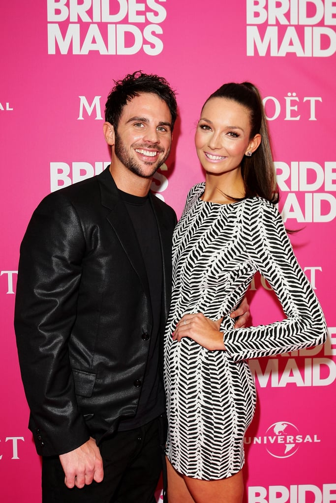 Richard Harrison and Ricki-Lee Coulter