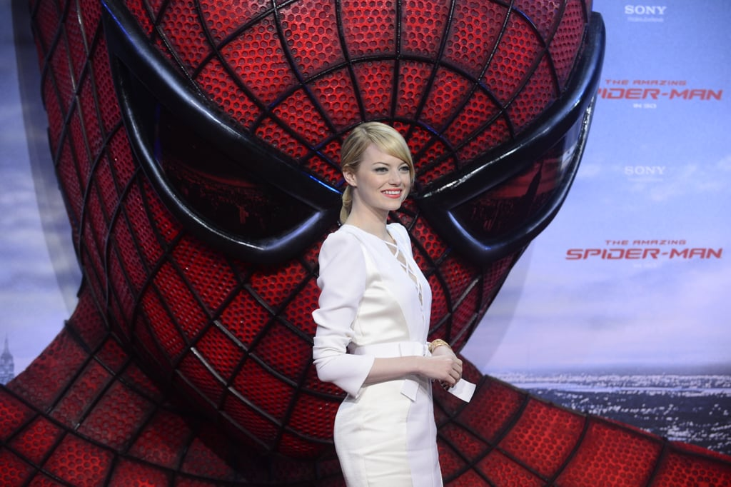 All the Pictures From Andrew and Emma's Spider-Man Tour