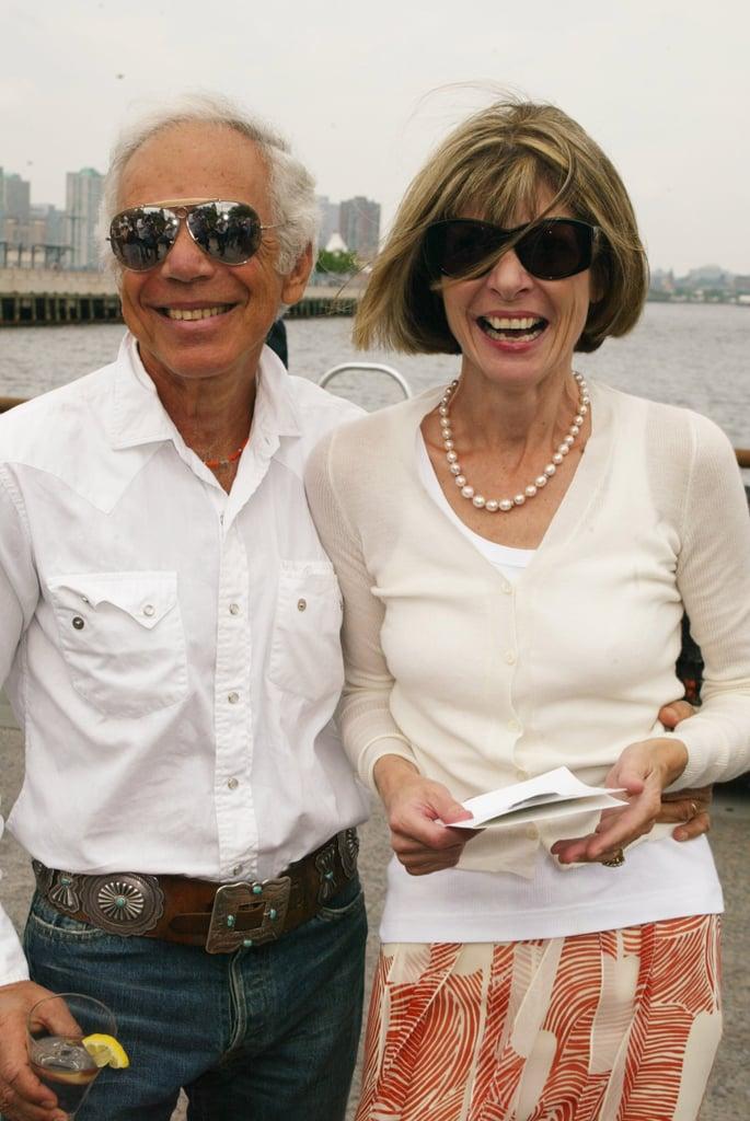 2004: Donna Karan Unveils Stephan Weiss's Sculpture The Apple