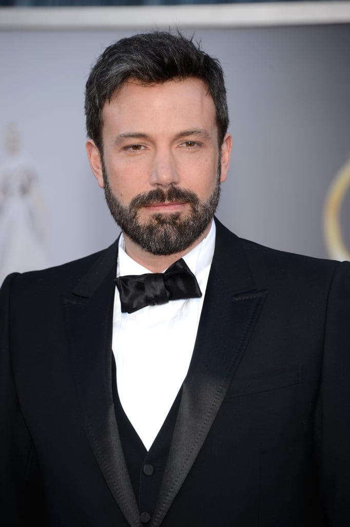 Ben Affleck on the red carpet at the Oscars 2013.