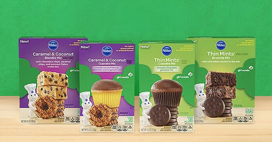 These New Baking Mixes Will Take Your Girl Scout Cookie Obsession to the Next Level