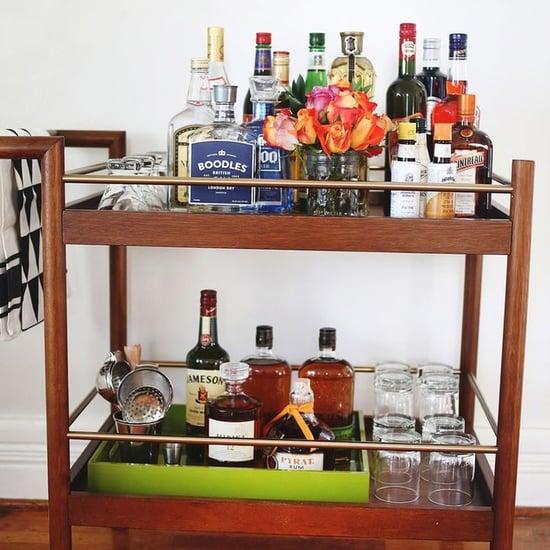 How to Stock a Bar Cart