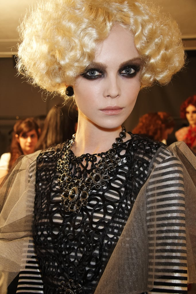 A Peek Backstage at the Chanel Cruise 2010 Show in Venice