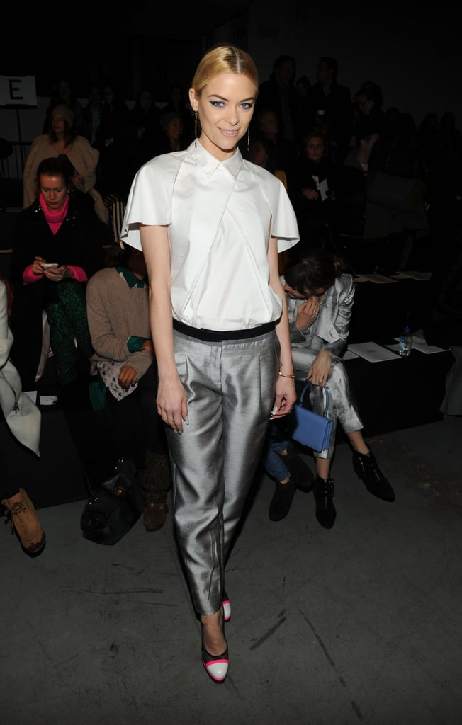 Jaime King attended the Prabal Gurung runway show for New York Fashion Week in February.