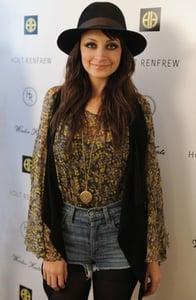 Nicole Richie Wearing Bohemian Blouse in Canada