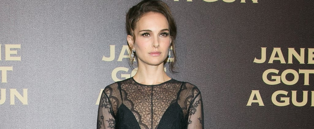 Natalie Portman Makes Black Lace the Most Modest — and Chic — Red Carpet Look