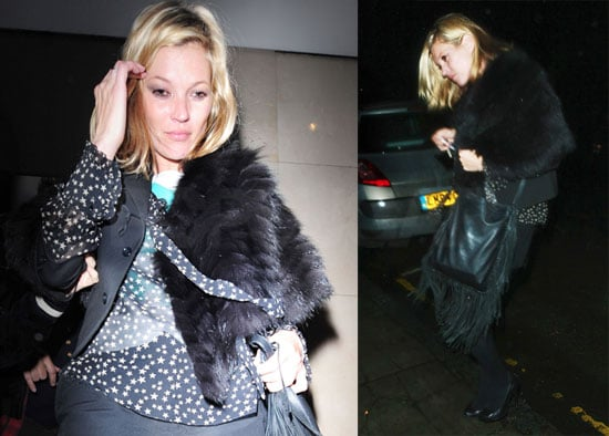 Photos of Kate Moss and Jamie Hince, Who Might Move to NYC, Out in London at Whiskey Mist